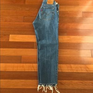 Levi Wedgie Straight Leg Jeans